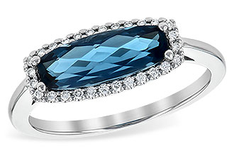 D226-59442: LDS RG 1.79 LONDON BLUE TOPAZ 1.90 TGW